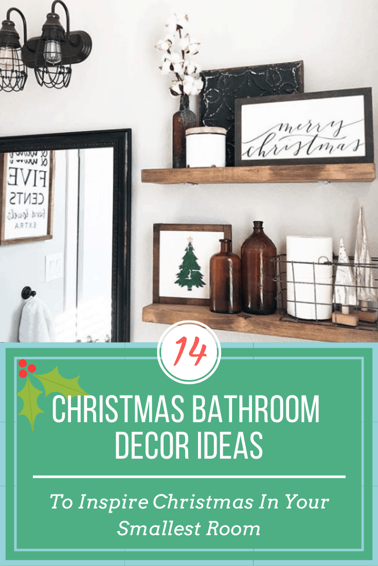 14 Unexpected Ways To Upgrade Your Living Room In 2020: 14 Christmas Bathroom Accessories: To Inspire Christmas In Your Smallest Room