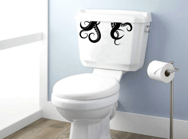 toilet decals