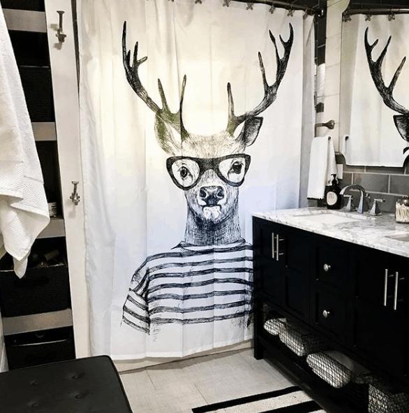 Shower Curtain Fun