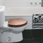 how to care for a wooden toilet