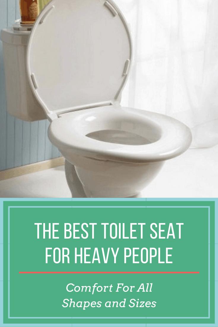 heavy person toilet seat