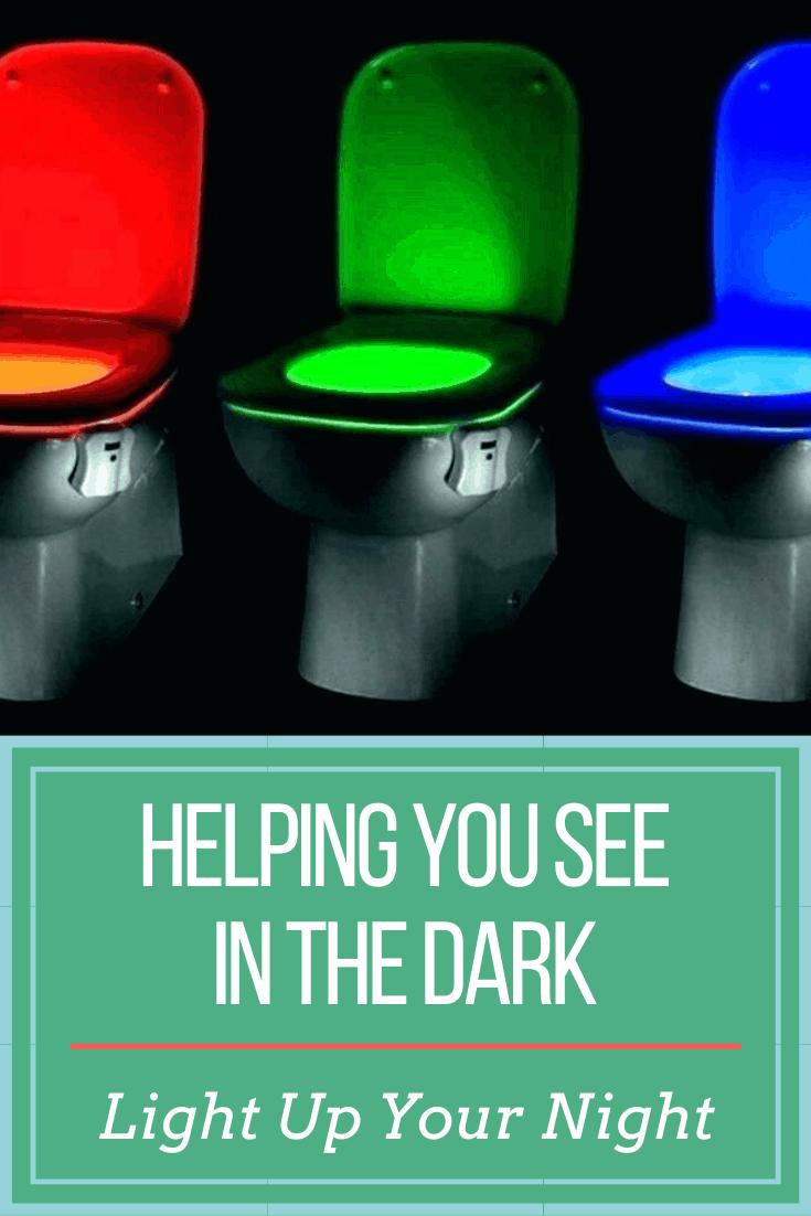 toilet seat lights