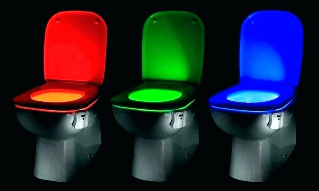 toilet seat lights