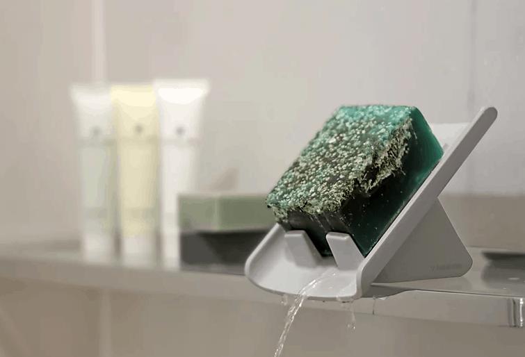 habitamin slanted soap dish