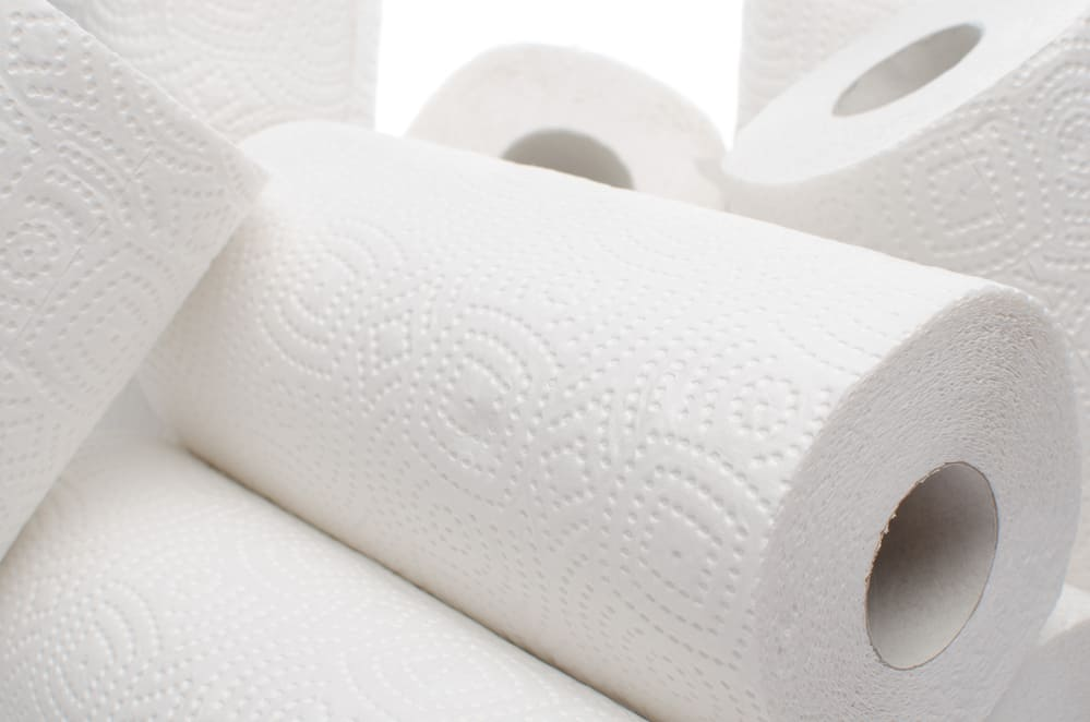 can you flush paper towels down the toilet?
